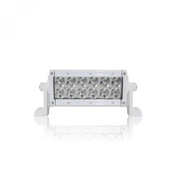 Dekkslyskaster LED 15cm 60w hvit