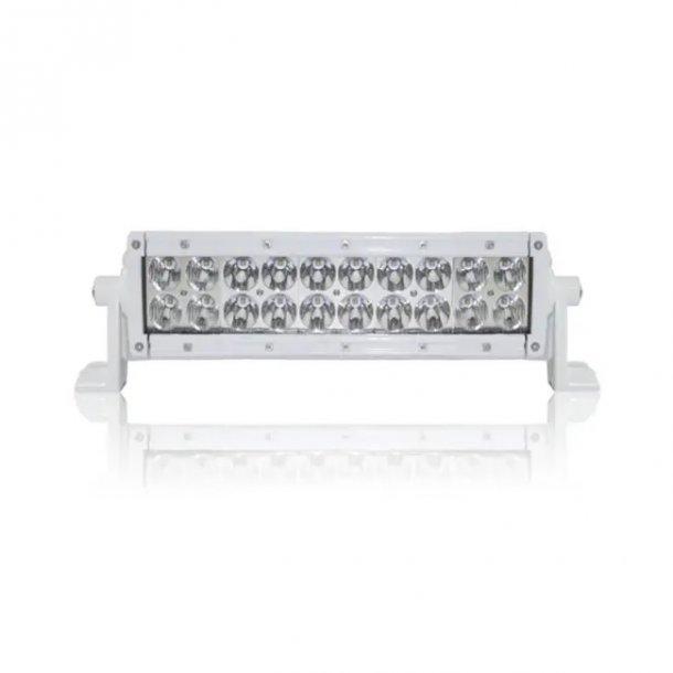 Dekkslyskaster LED 25cm 100w hvit