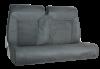 BS tekstil mørk grå m/sorte kjeder