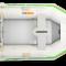 Aqua Marina Pioner oppblåsbar seilbåt alu dekk