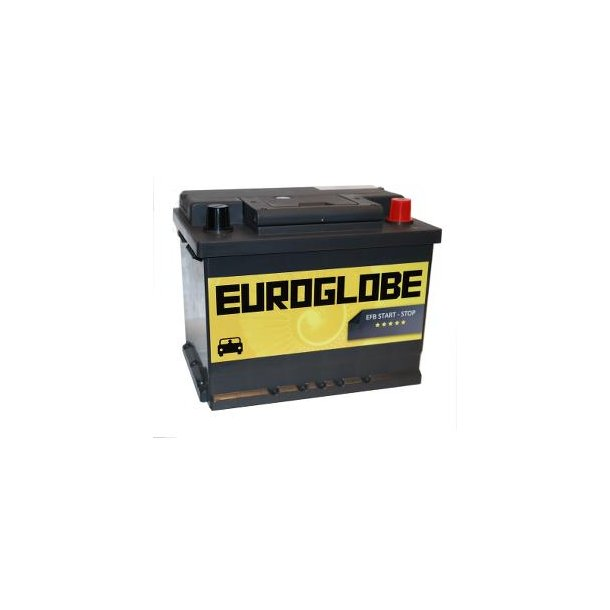 Euroglobe 74060, 60Ah, EFB, start/stopp