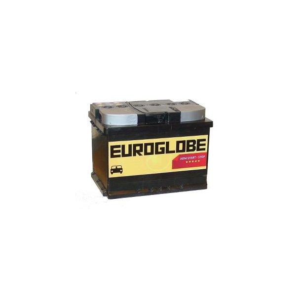 Euroglobe 75060, 60Ah, AGM, start/stopp