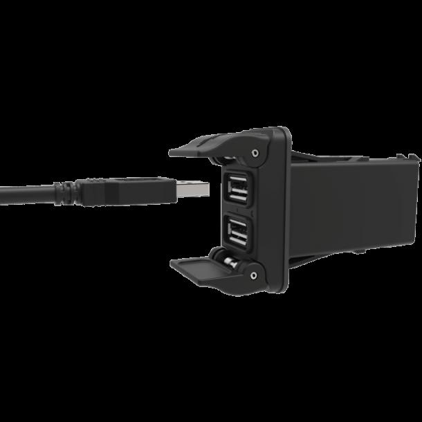 Carlingswitch dobbel USB uttak