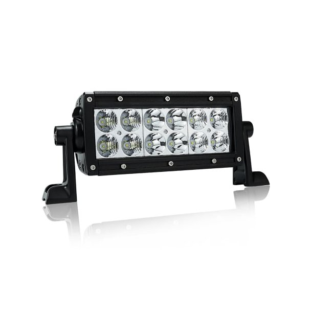 Dekkslyskaster LED 15cm 60W Sort