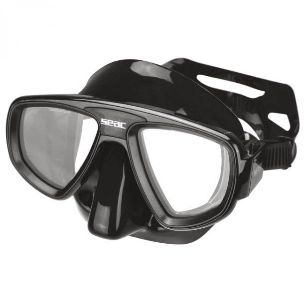 Dykkermaske EXTREME svart silikon