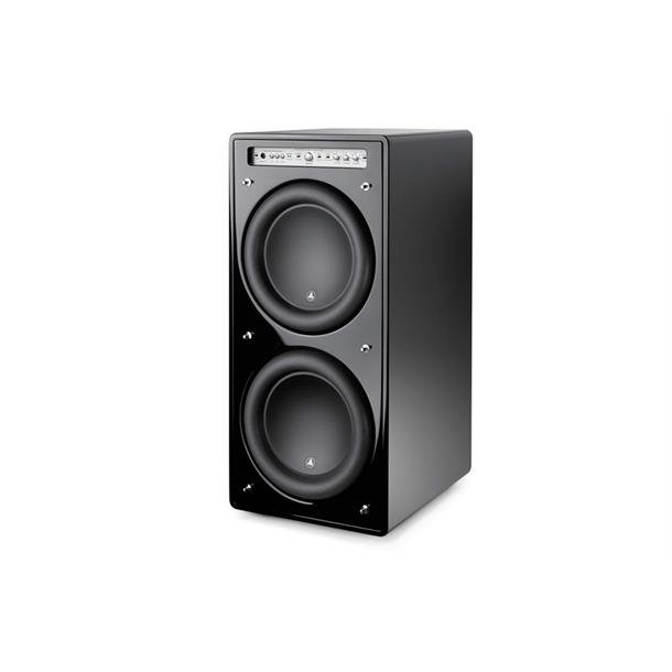 L Audio - Fathom F212 i sort pianolakk High End subwoofer 2 x 12