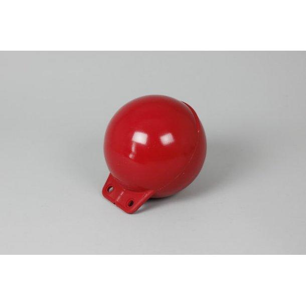 Garnblåse 15cm mykplast rød