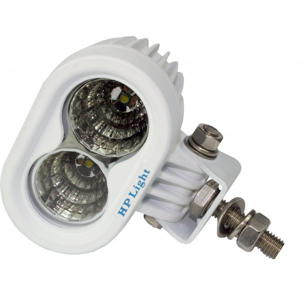 HP-TEC marinelykt, LED, 2x10W, 1800lm, kaster