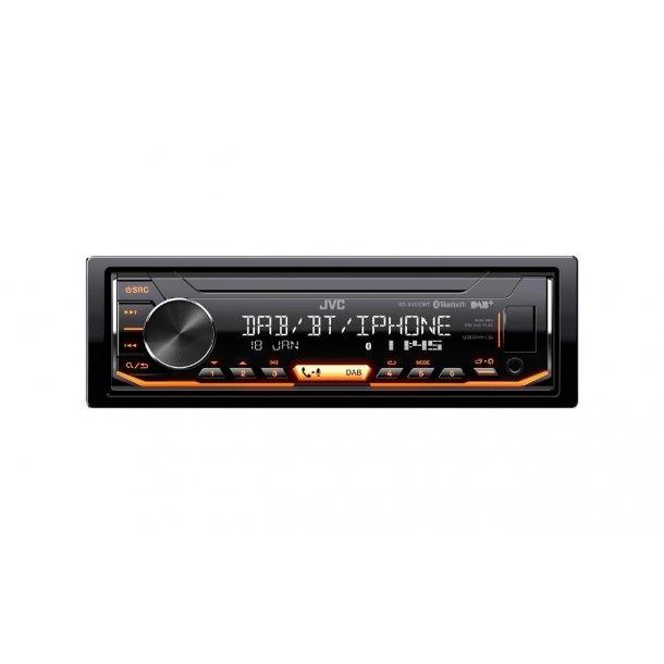 JVC KD-X451DBT multimedia hovedenhet 4x50W DAB USB AUX