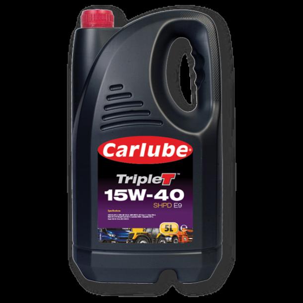 KAF050 CARLUBE semisyntetisk 15w40 VDS4, 5 liter