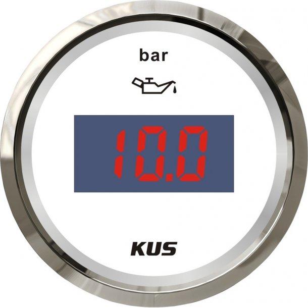 KUS DIGITAL OLJETRYKK 0-10 BAR