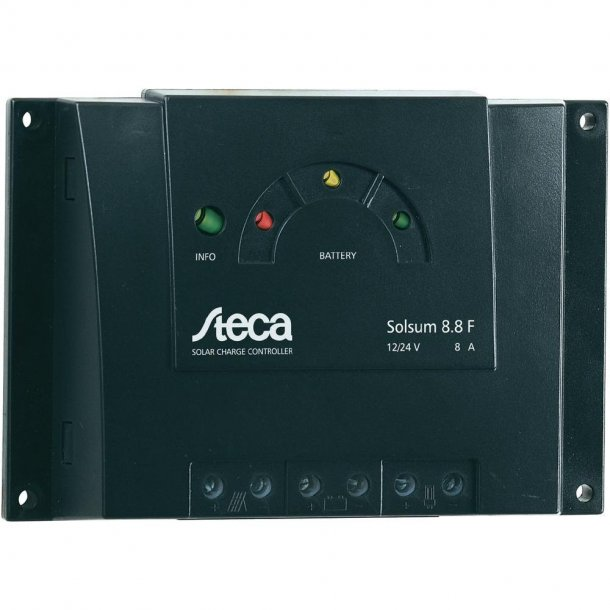 Steca Solsum 8.8F - 12 / 24V 8A Solar Charge Controller