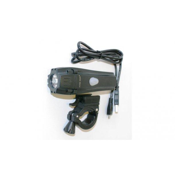 Osean Sykkellykt LED oppladbar m/USB