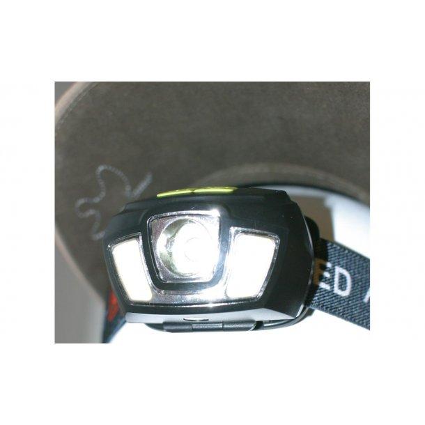 Osean hodelykt oppladbar LED COB/CREE