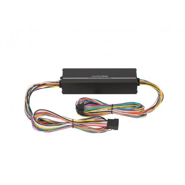 Alpine KTP-445A PowerPACK 4x100W 2gen, AdOn forsterker
