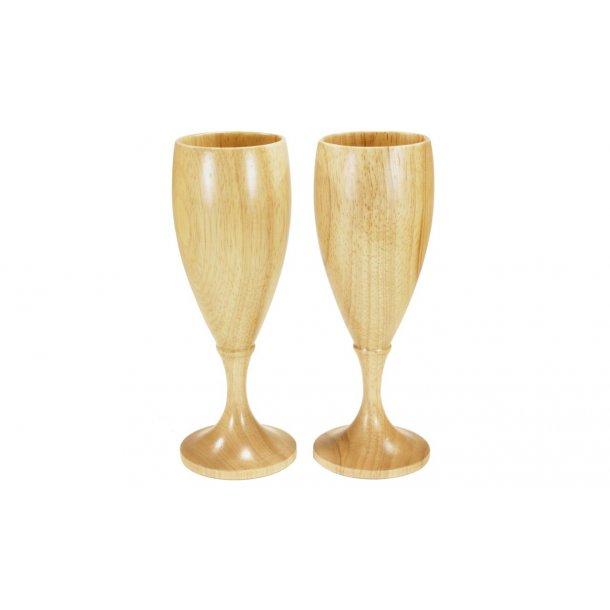 Champagne/Hvitvinsglass Tre 2 stk.