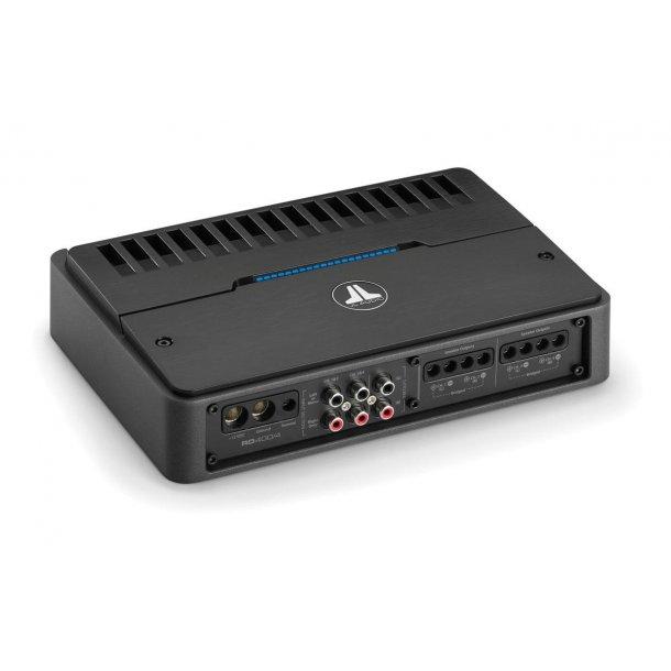 JL Audio RD400/4 - multikanals forsterke 4x100W, klasse D, NexD, Filter