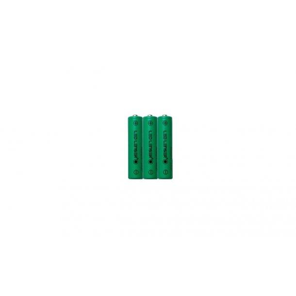 Oppladbar batteripakke 3xAAA Ni-MH 3,6v