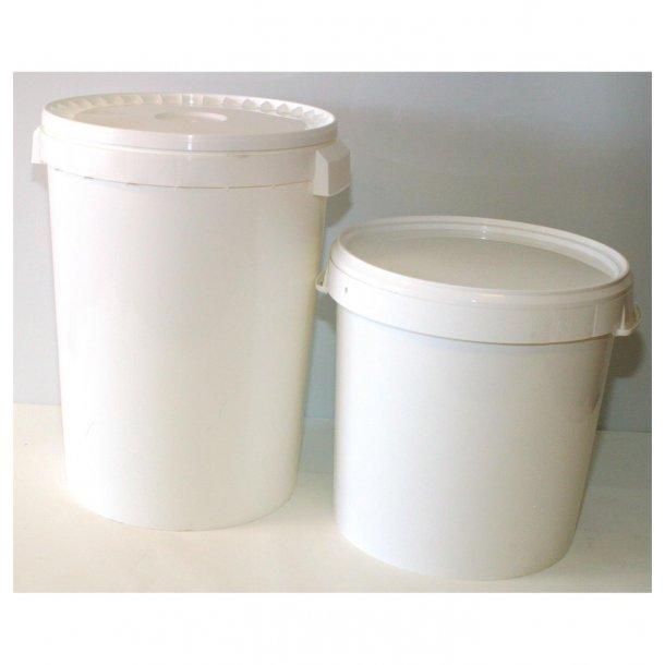 Plastdunk m/lokk, 40 ltr næringsgodkjent