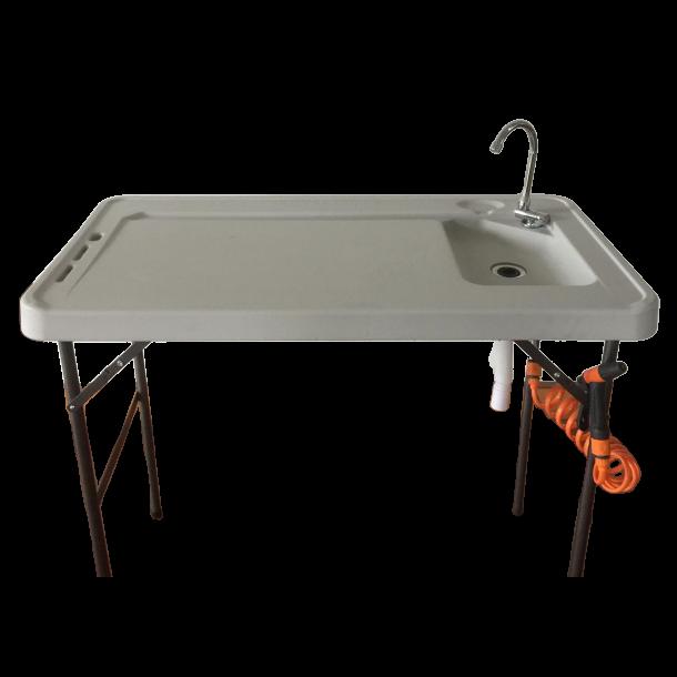 Sløyebord fiskebord m/vask og spyleslange