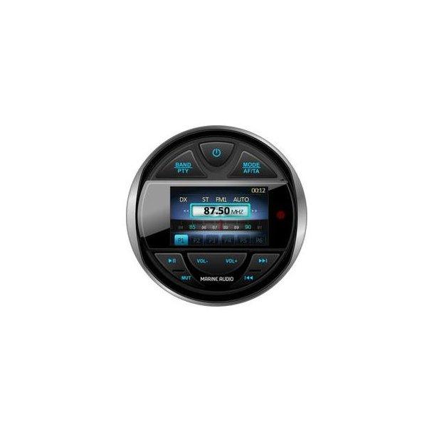 Marine radio, DAB+ , Bluetooth, AUX/USB, 4 x 40W, IPX5