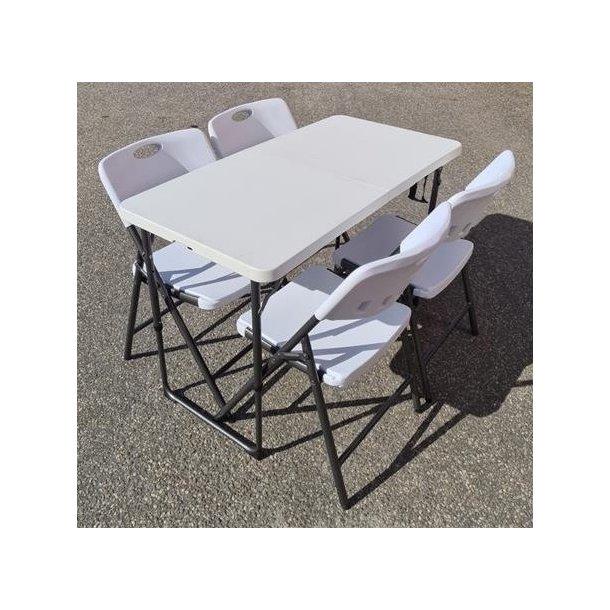 Sammenleggbart bord 1205x605mm